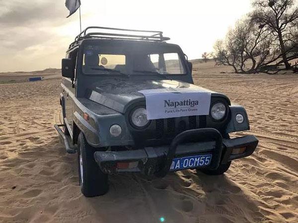 NAPATTIGA与中国第四大沙漠——腾格里沙漠之旅