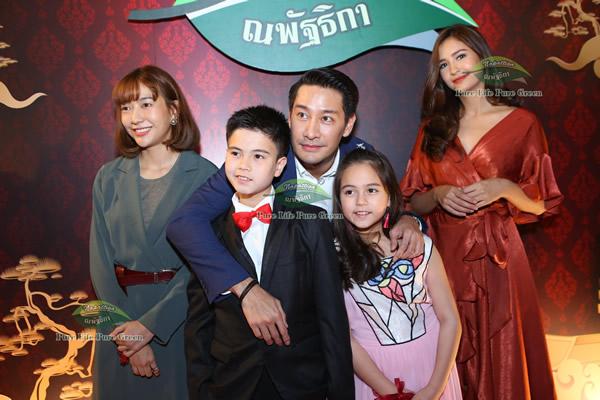 泰国十大童星之最萌兄妹Justin贾斯汀、Jenna珍娜签约娜帕蒂卡